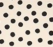 Cream with Black dots
